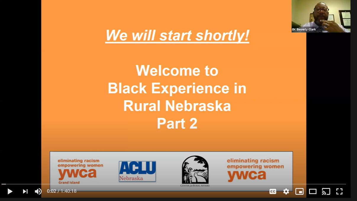 Black Experience in Rural Nebraska Part 2