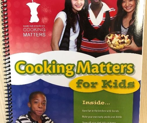 Cooking Matters for Kids Cookbook