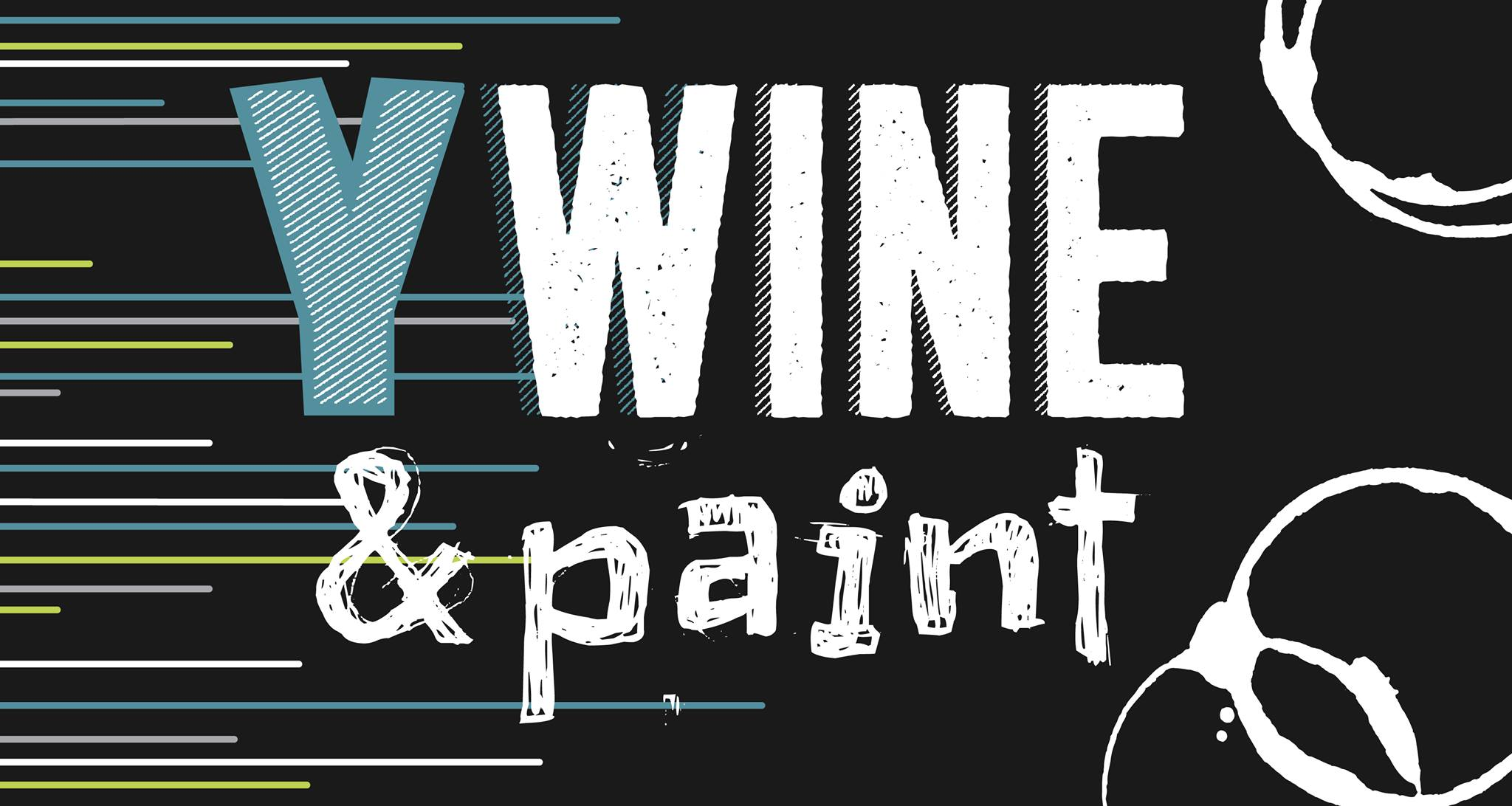 YWine & Paint Event